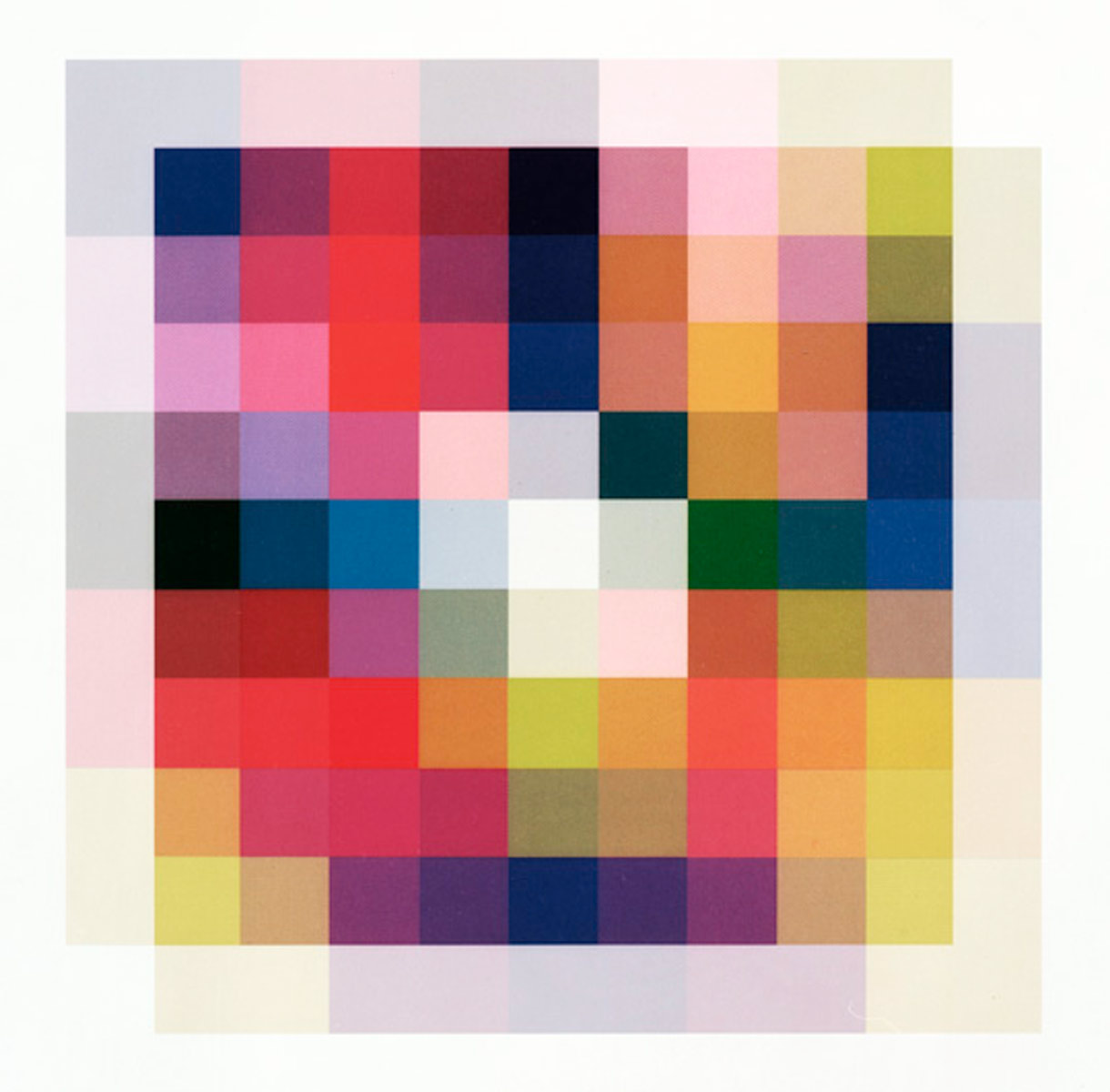 25 Colours III, 2009<br>60x60cm<br>c-print