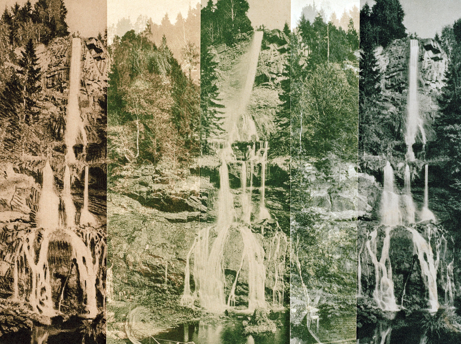 Romker Waterfall I, 2016<br>150x112cm<br>colour photography