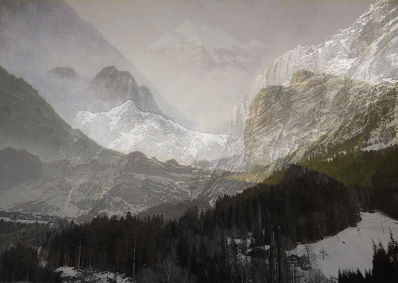 Mountains, 2011<br>C-Print / Diasec<br>160x220cm